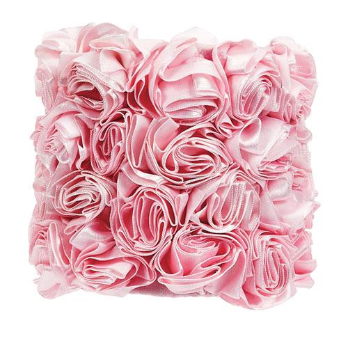 Jubilee Collection Rose Garden - Pink Chandelier Shade - Drum Shape