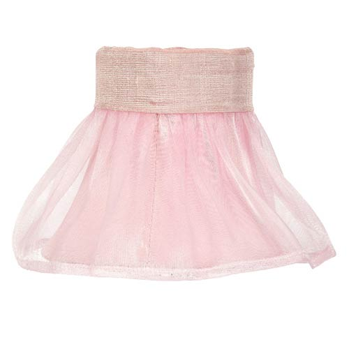 Ruffled Sheer Pink 4-Inch Mini Chandelier Shade