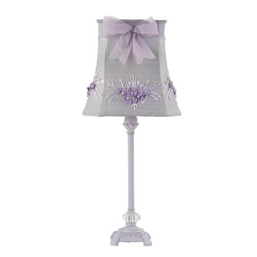 Lavender table lamp bellacor jubilee collection scroll glass ball lavender table lamp aloadofball Image collections