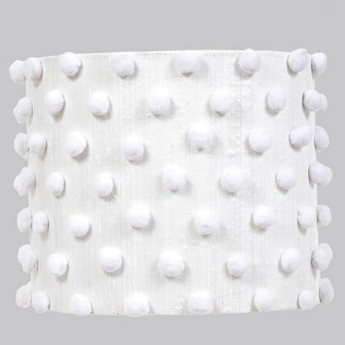 Jubilee Collection Pom White Lamp Shade
