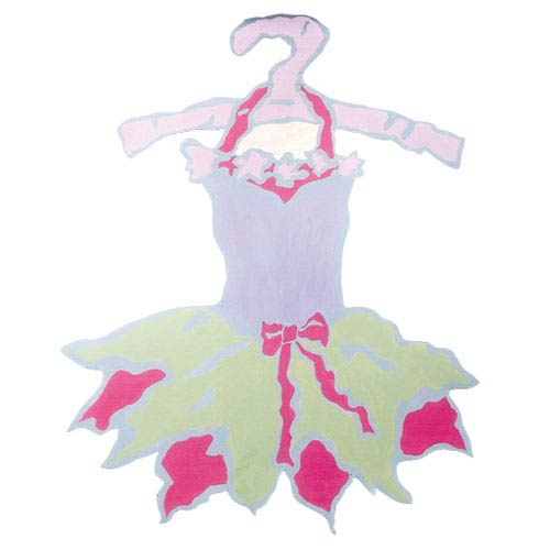 Jubilee Collection Magnet Board - Tutu - Green Skirt