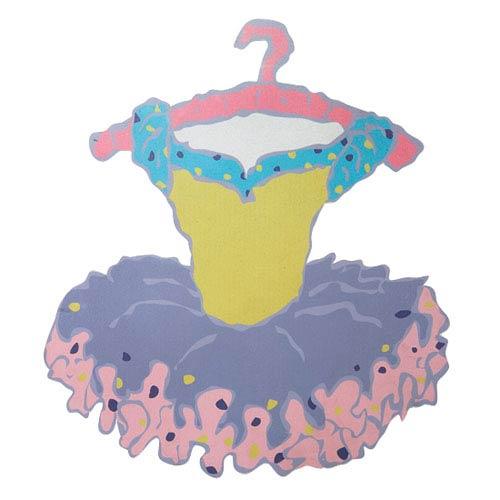 Magnet Board - Tutu - Lavender Skirt