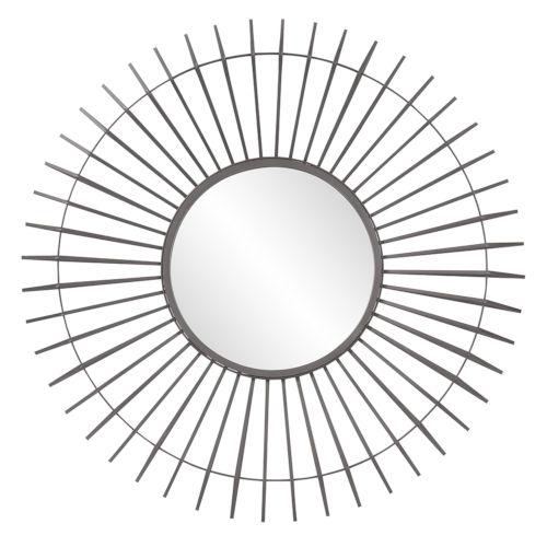 Kenton Graphite Wall Mirror
