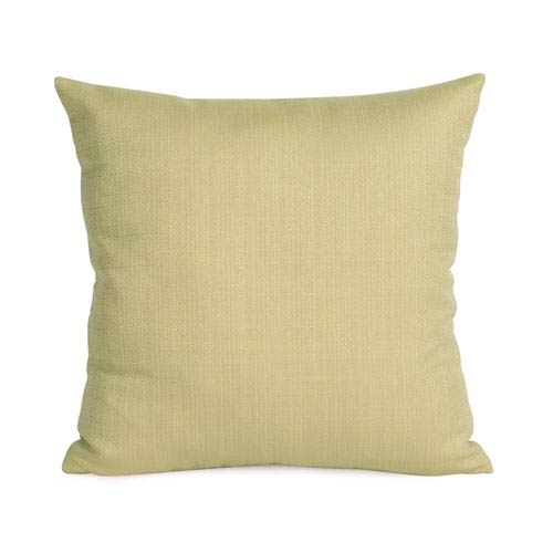 Howard Elliott Collection Sterling Willow 16 x 16-Inch Pillow with Down Insert