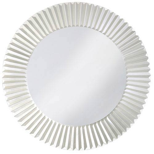 Howard Elliott Collection Torino Glass Round Mirror