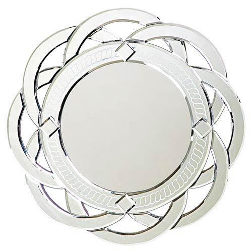 Howard Elliott Collection Galaxy Glass 1-Inch Round Mirror