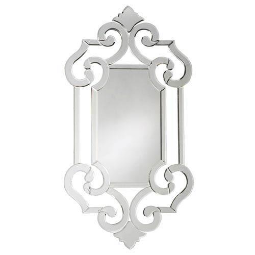 Howard Elliott Collection Clarice Transparent Venetian Mirror