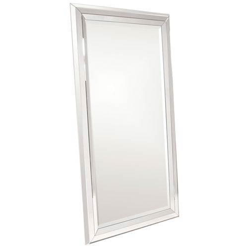 Omni Wood Large Modern Rectangle Mirror