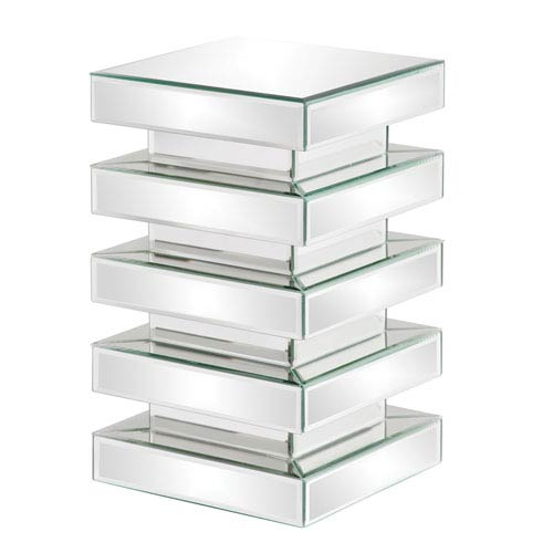 Stepped Clear Small Pedestal