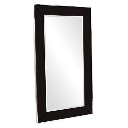 Howard Elliott Collection Devon Black 2-Inch Rectangle Mirror