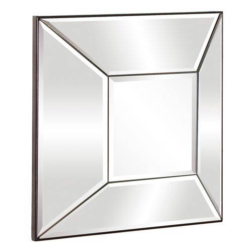 Howard Elliott Collection Stephen Transparent Square Mirror