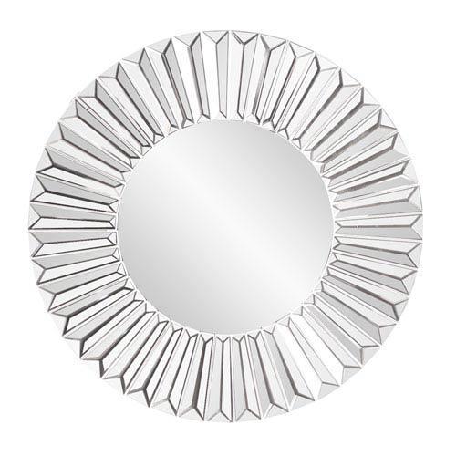 Howard Elliott Collection Mirrored Torino Sunburst Mirror
