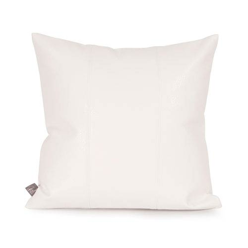 Howard Elliott Collection Avanti White Square Pillow