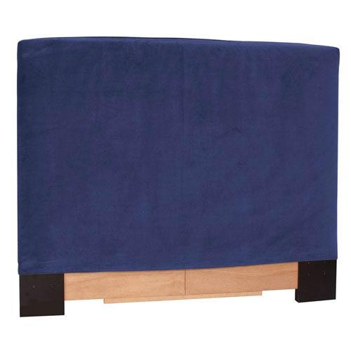 Howard Elliott Collection Bella Royal Blue King Headboard Slipcover