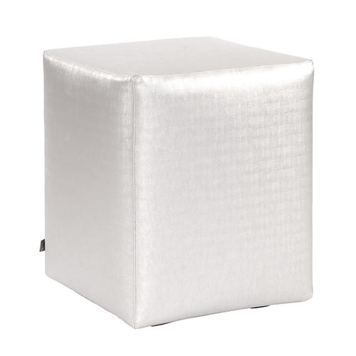 Awesome Luxe Mercury Universal Cube Ottoman Creativecarmelina Interior Chair Design Creativecarmelinacom
