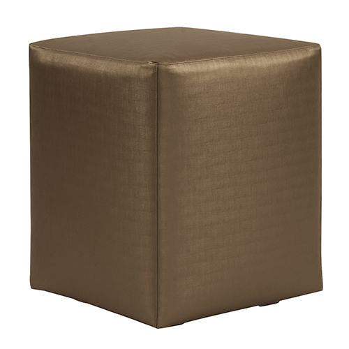 Luxe Bronze Universal Cube Ottoman