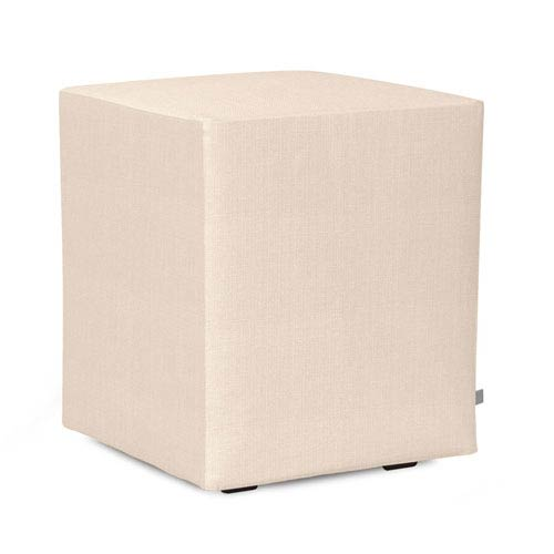 Sterling Sand Universal Cube Ottoman