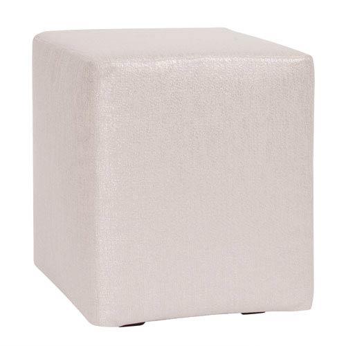 Howard Elliott Collection Glam Sand Universal Cube Ottoman