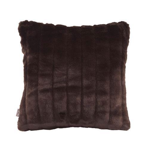 Howard Elliott Collection Mink Brown 16 x 16-Inch Pillow