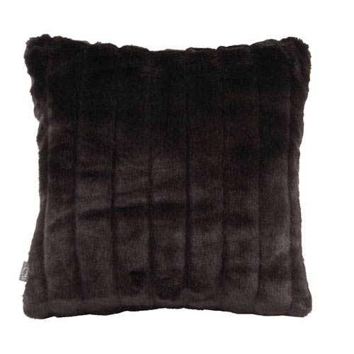 Howard Elliott Collection Mink Black 16 x 16-Inch Pillow