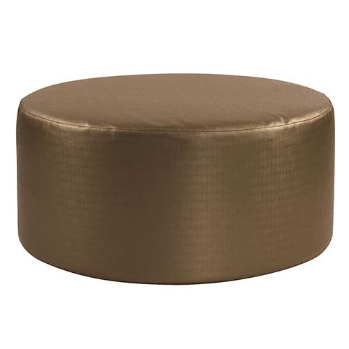 Luxe Bronze Universal 36-inch Round Ottoman