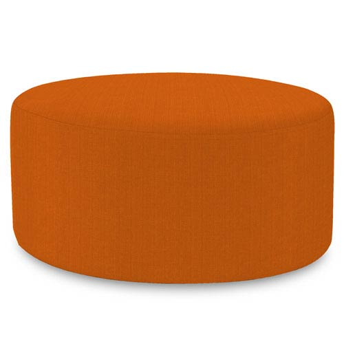 Howard Elliott Collection Sterling Canyon Universal Round Ottoman
