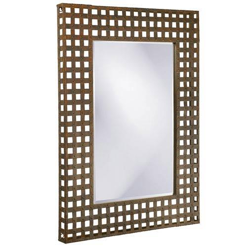 Patrick Metal Rectangle Mirror