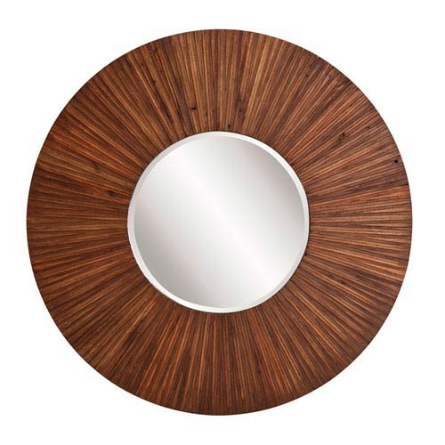 Howard Elliott Collection Walden Wood Plank Mirror