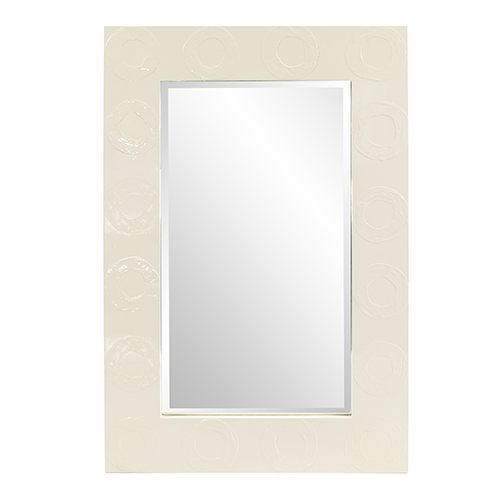 Rhumba Cream Rectangular Mirror