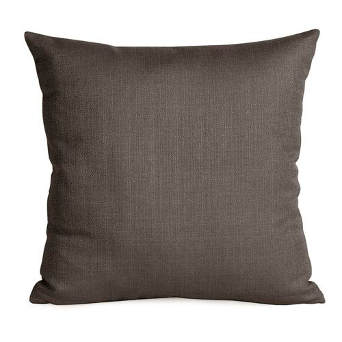 Howard Elliott Collection Sterling Charcoal 20 x 20-Inch Pillow with Down Insert
