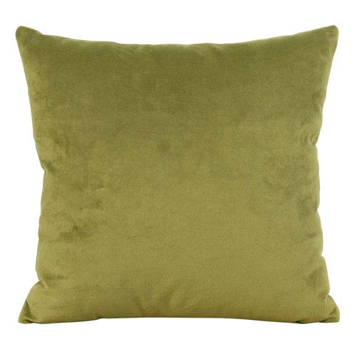 Bella Moss 20 x 20-Inch Pillow with Down Insert