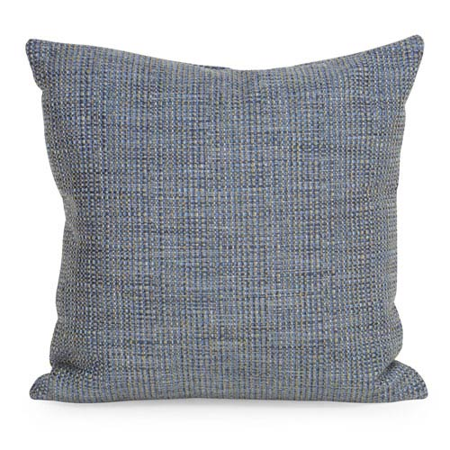 Howard Elliott Collection Coco Sapphire 20 x 20-Inch Pillow with Down Insert
