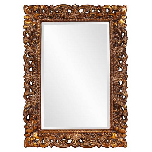 Barcelona Gold Rectangle Mirror