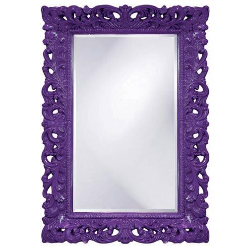 Barcelona Royal Purple Rectangle Mirror