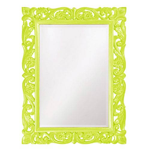 Howard Elliott Collection Chateau Green Rectangle Mirror