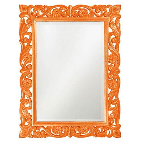 Howard Elliott Collection Chateau Orange Rectangle Mirror