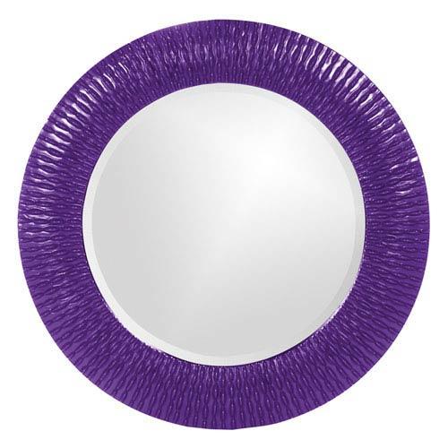 Bergman Royal Purple Round Mirror