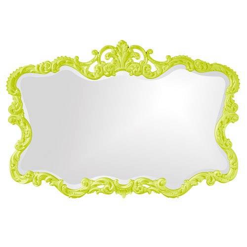 Talida Green Rectangle Mirror