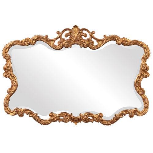 Talida Gold Rectangle Mirror