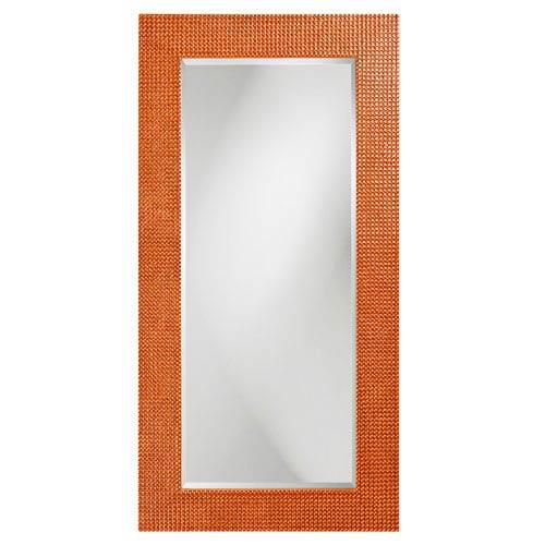 Lancelot Glossy Orange Rectangle Mirror