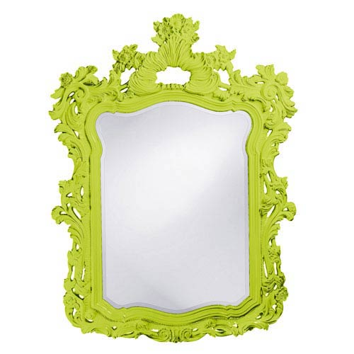 Howard Elliott Collection Turner Green Rectangle Mirror