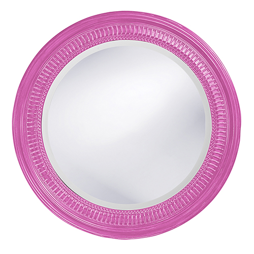 Monmouth Glossy Hot Pink Mirror
