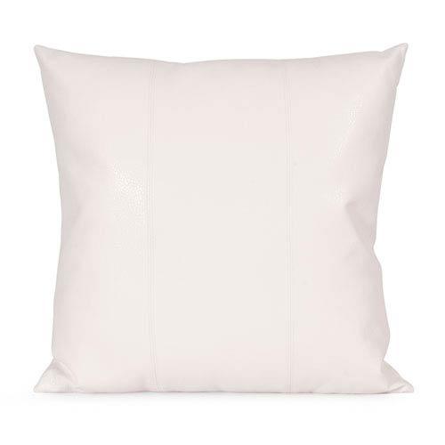 Howard Elliott Collection Avanti White 20-Inch Square Pillow
