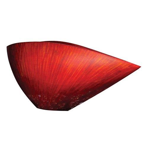 Howard Elliott Collection Asymmetrical Wood V-Shape Vase