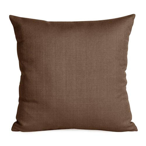 Howard Elliott Collection Sterling Chocolate 20-Inch Square Pillow