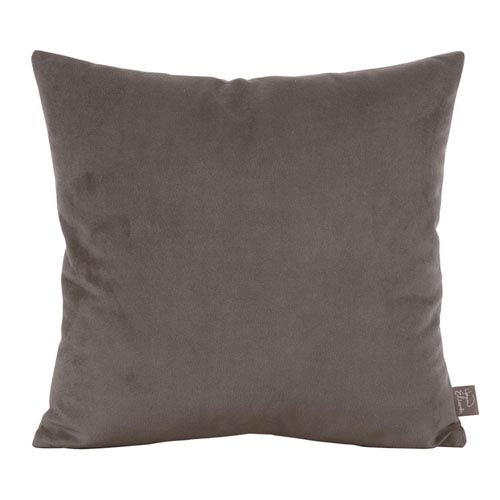 Bella Pewter 20-Inch Square Pillow