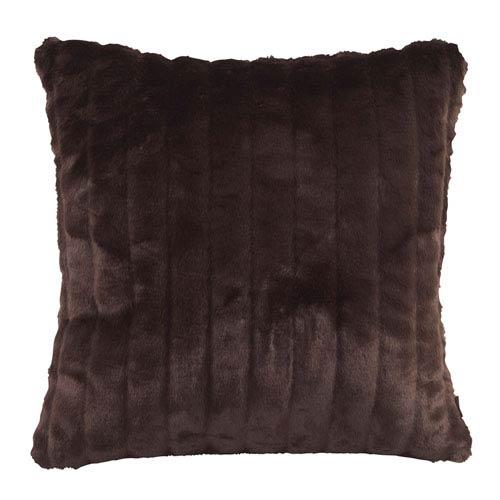 Mink Brown 20 x 20-Inch Pillow