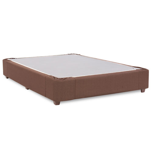 Howard Elliott Collection Sterling Chocolate Twin Platform Kit and Cover