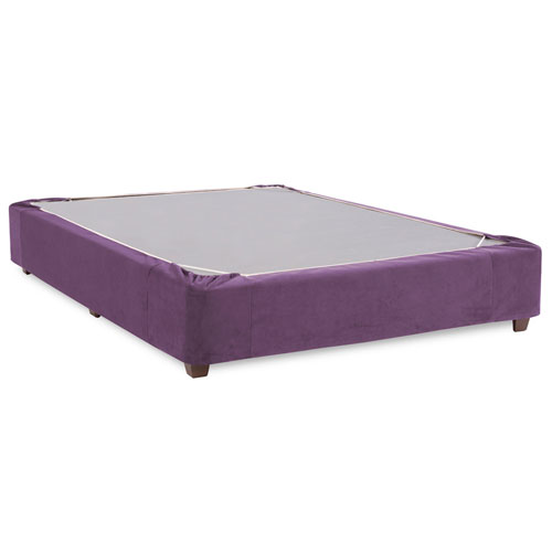 Howard Elliott Collection Bella Eggplant Full Boxspring Kit and Cover