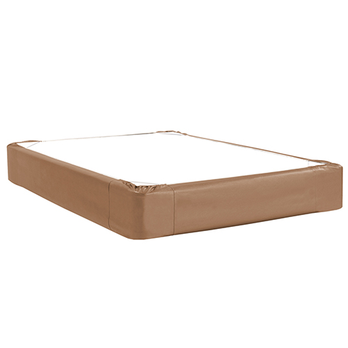 Luxe Bronze Full Boxspring Cover